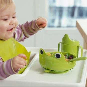 Bộ dụng cụ ăn Baby