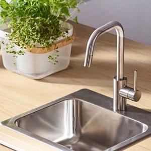Vòi nước & bồn rửa bếp