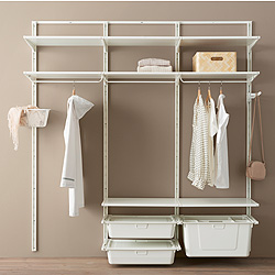Hệ thống mở lưu trữ quần áo và giày