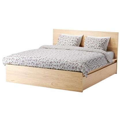 Giường đôi MAMY với 2 hộc kéo
