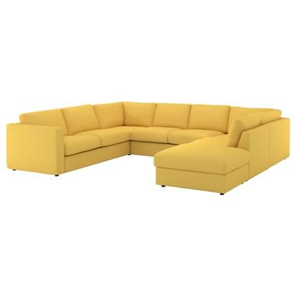 Sofa LENOVO 6 chổ Màu vàng đậm